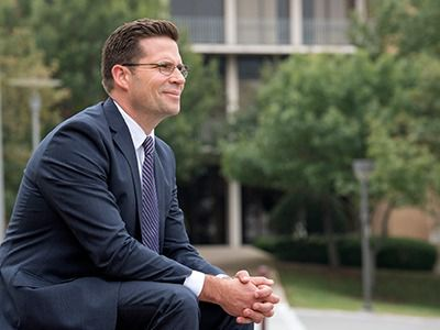 Jonathan J. Sanford takes the reins this week as the 10th president of the University of Dallas.