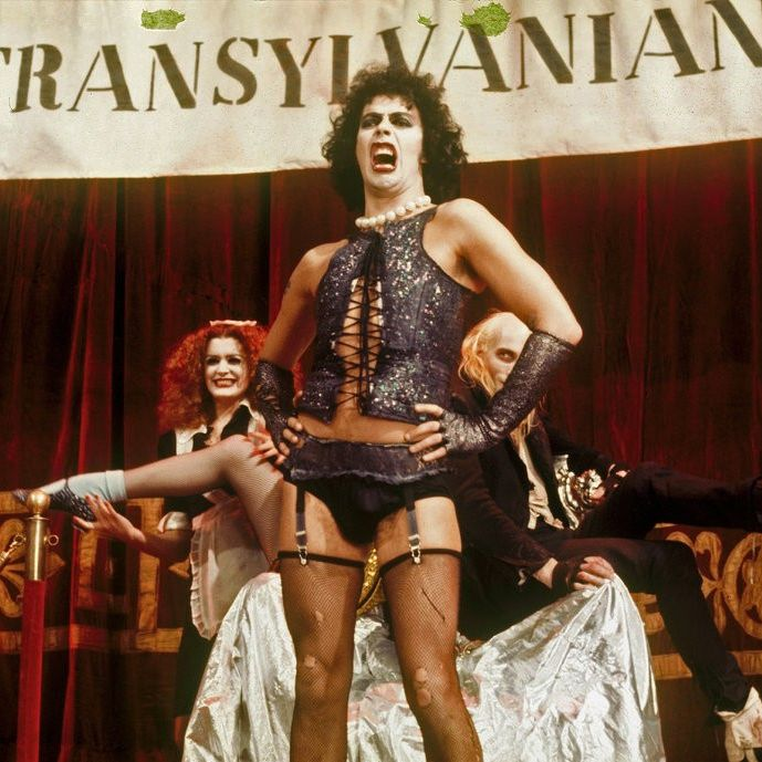 """Tim Curry stars in the cult classic """"The Rocky Horror Picture Show."""""""