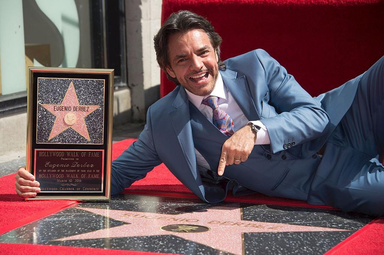Eugenio Derbez agradeció el apoyo de los latinos en su carrera en Hollywood. (AFP/GETTY IMAGES/ROBYN BECK)