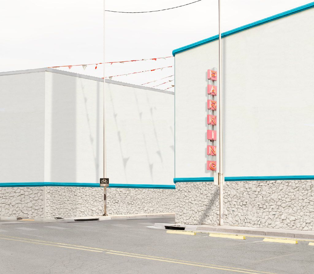 'Parking' by Leigh Merrill, 21 x 24 inches framed, pigment print, 2016