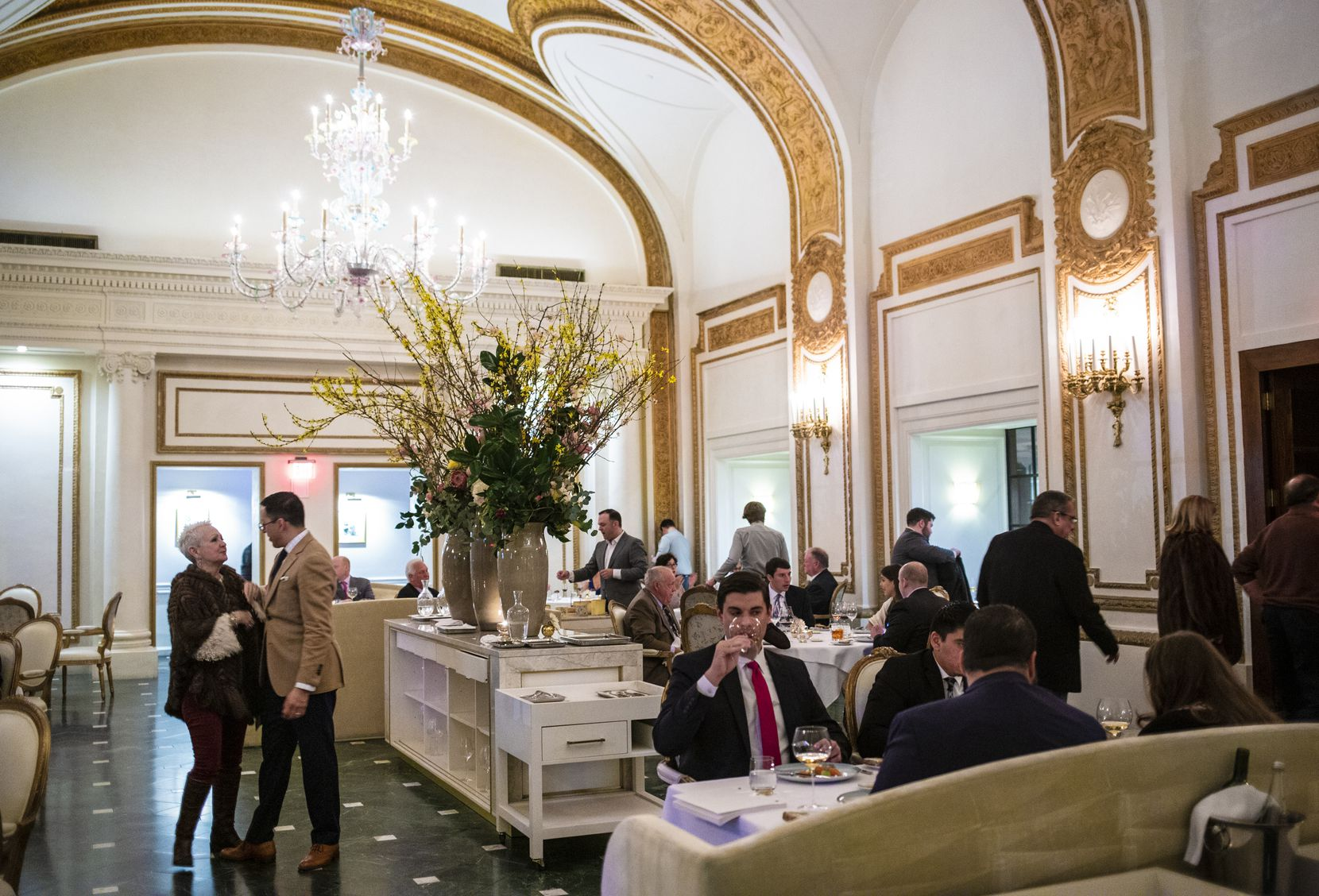 The French Room in Dallas, located in the more than 100-year-old Adolphus Hotel, is an iconic restaurant. But it has struggled to stay relevant.