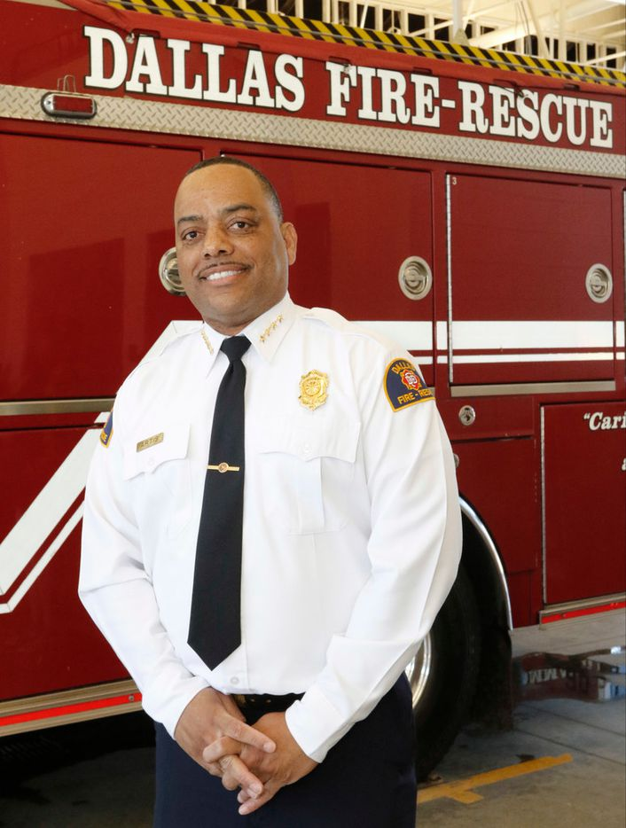 Dominique Artis was announced as Dallas Fire-Rescue chief Friday.