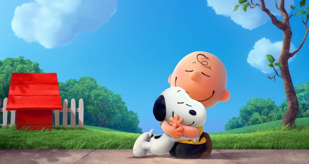 "Snoopy and Charlie Brown from Charles Schulz's timeless ""Peanuts"" comic strip in their big-screen debut in a CG-animated feature film in 3D, ""The Peanuts Movie."""