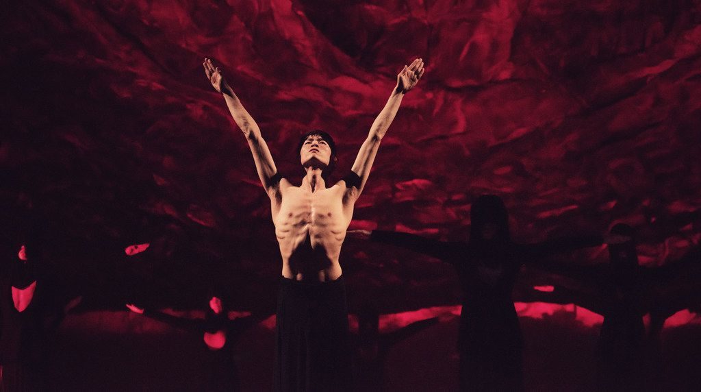 Hamlet will be performed by choreographer Wang Yuanyuan's Beijing Dance Theater on Feb. 8 at Winspear Opera House, presented by TITAS.