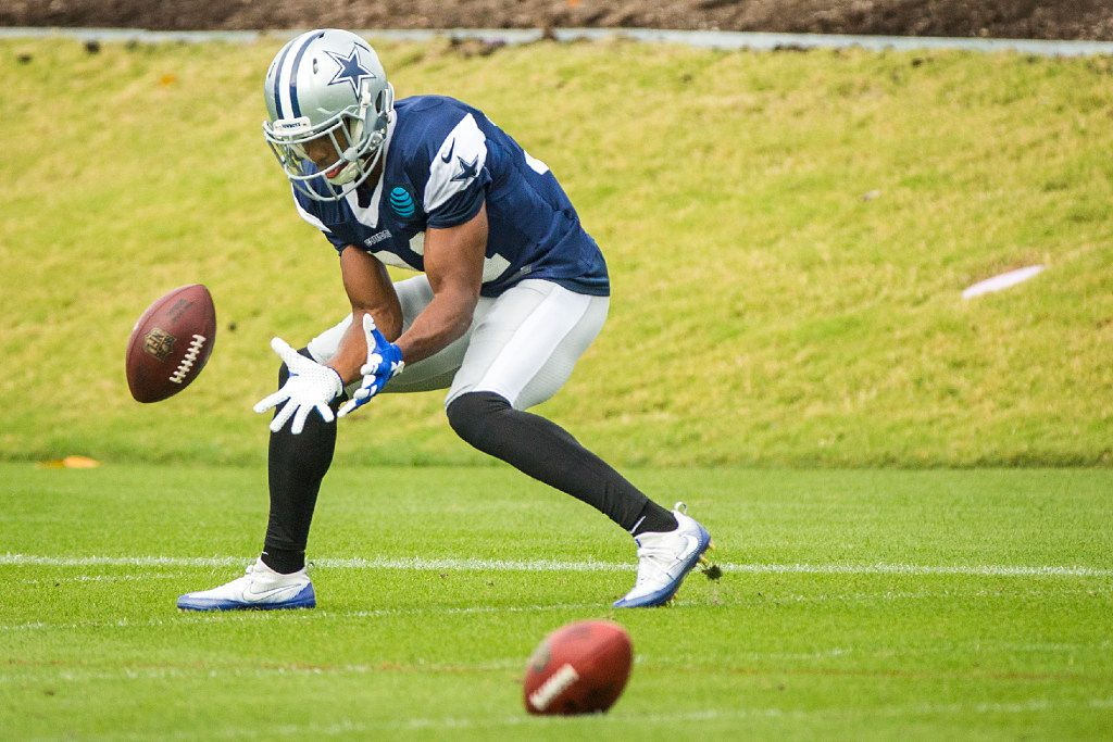 Dallas Cowboys free safety Byron Jones participates in a drill during the team's practice at The Star on Wednesday, Nov. 2, 2016, in Frisco. (Smiley N. Pool/The Dallas Morning News)