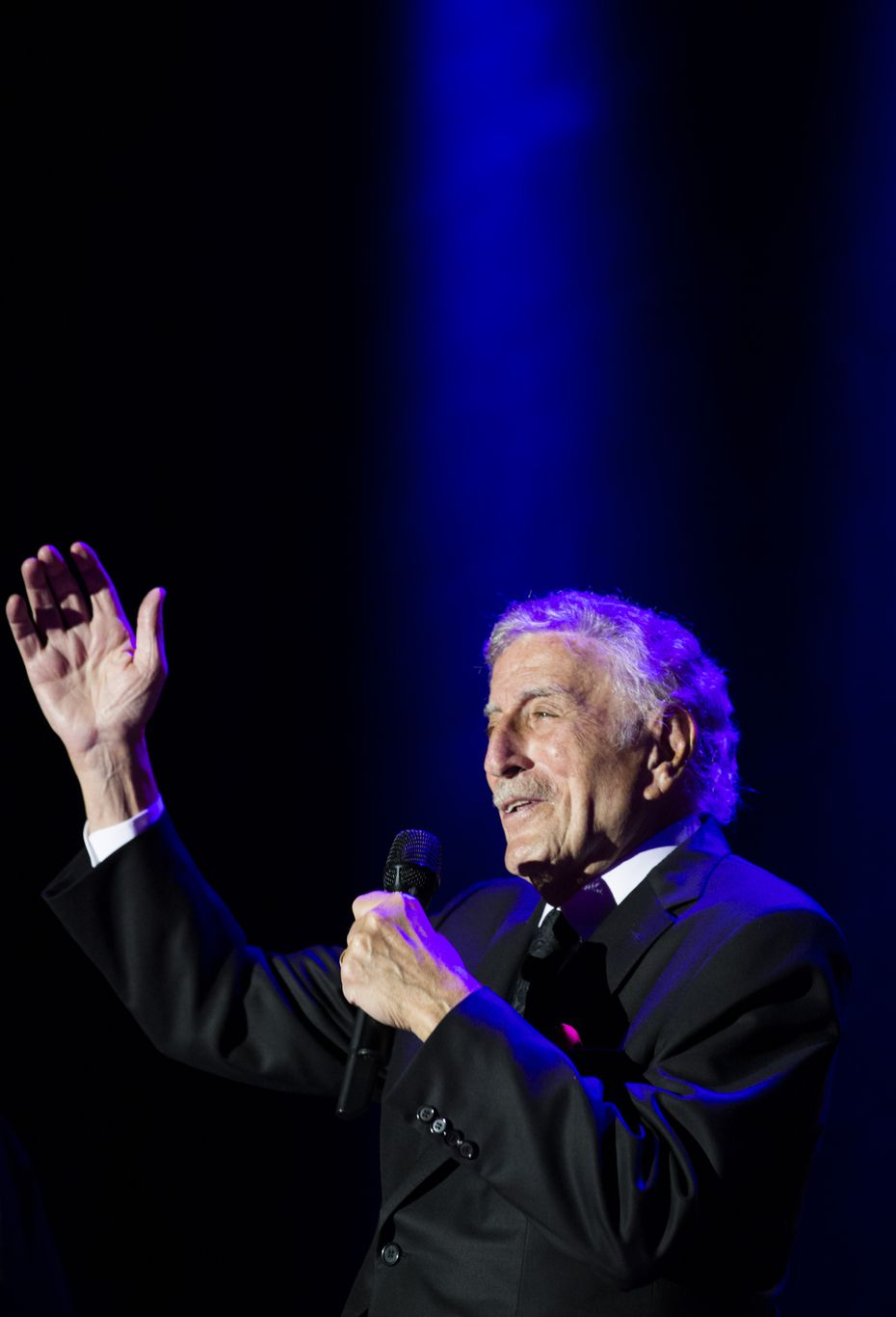 Tony Bennett returned to The Statler Hotel during the hotel's extravaganza week in March. The Grammy Award winner sang at the original grand opening celebration decades ago.