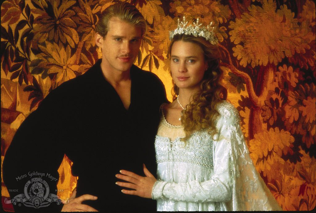 "A handout photo from MGM shows Cary Elwes and Robin Wright in 1987's ""The Princess Bride."""