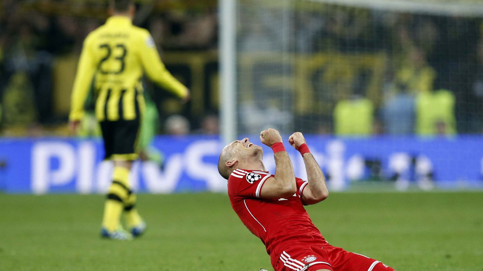 Arjen Robben Scores In 89th Minute To Give Bayern Munich Win Over Borussia Dortmund In Champions League Final