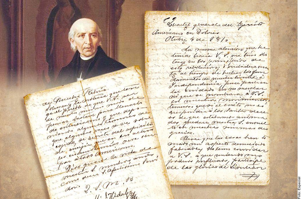El manuscrito de Miguel Hidalgo, con un precio estimado de entre 110 mil y 130 mil pesos mexicanos, fue retirado de la subasta.