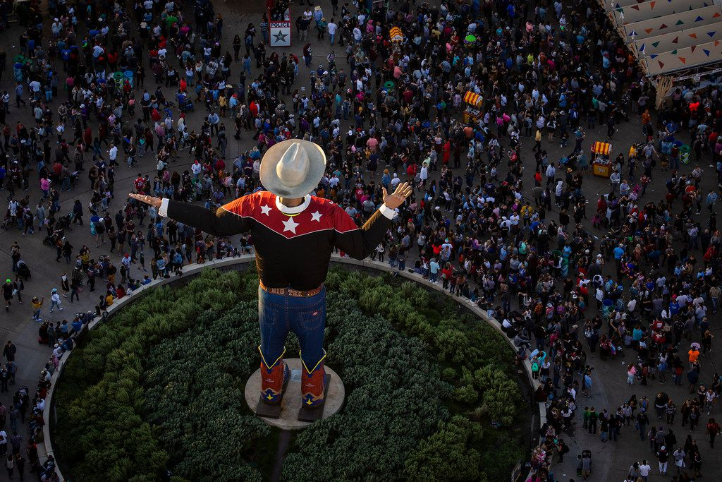 Crowds filled the State Fair of Texas in Fair Park on Saturday, Oct. 20, 2018, in Dallas.
