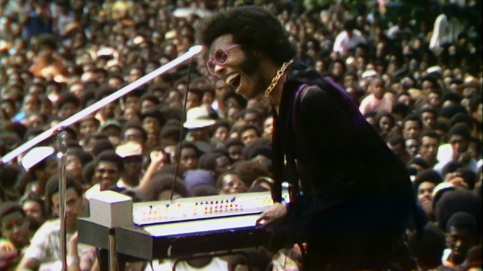 """Denton native Sly Stone steals the show in """"Summer of Soul (…Or, When the Revolution Could Not Be Televised),"""" Questlove's documentary about the 1969 Harlem Cultural Festival."""