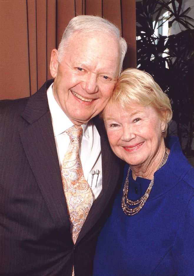 Nancy Ann and Ray Hunt.