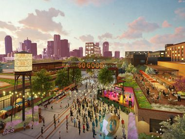 Plans for the mixed-use SoGood development south of downtown Dallas include retail, residential and commercial space.