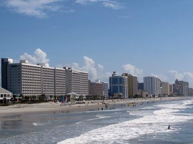 Smaller leisure destinations, such as Myrtle Beach, S.C., are leading the recovery in summer travel. In May, the average hotel rate in Myrtle Beach was 34% higher than pre-pandemic prices, according to travel app Hopper.