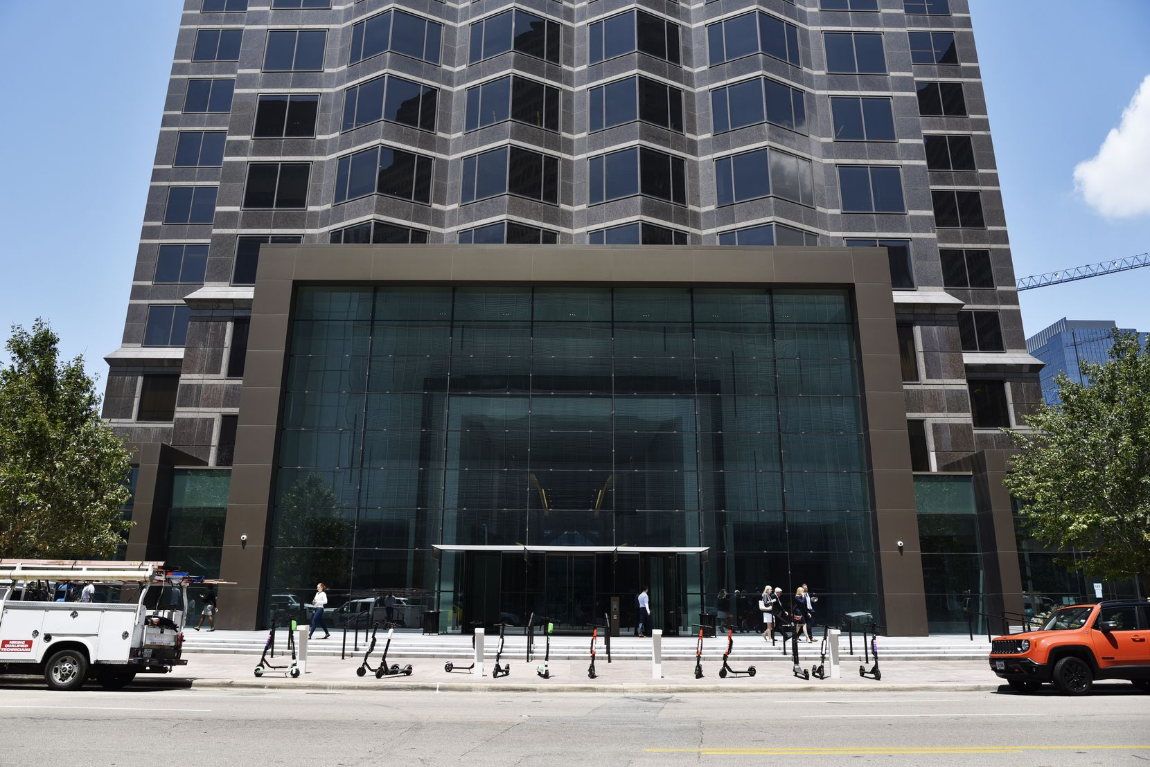 Goldman Sachs has more than 1,000 workers at the Trammell Crow Center on Ross Avenue in downtown Dallas.
