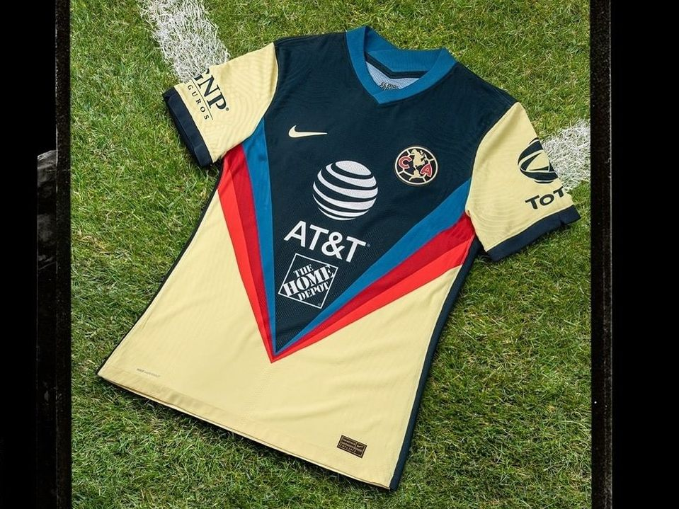 Esta es la camiseta que las Águilas del América utilizarán en sus partidos como local en el Torneo Apertura 2020.