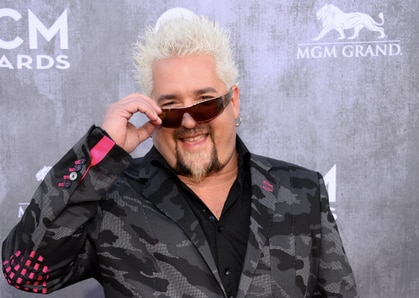 Guy Fieri visited Arlington, Texas, recently for the ACM Awards in April.