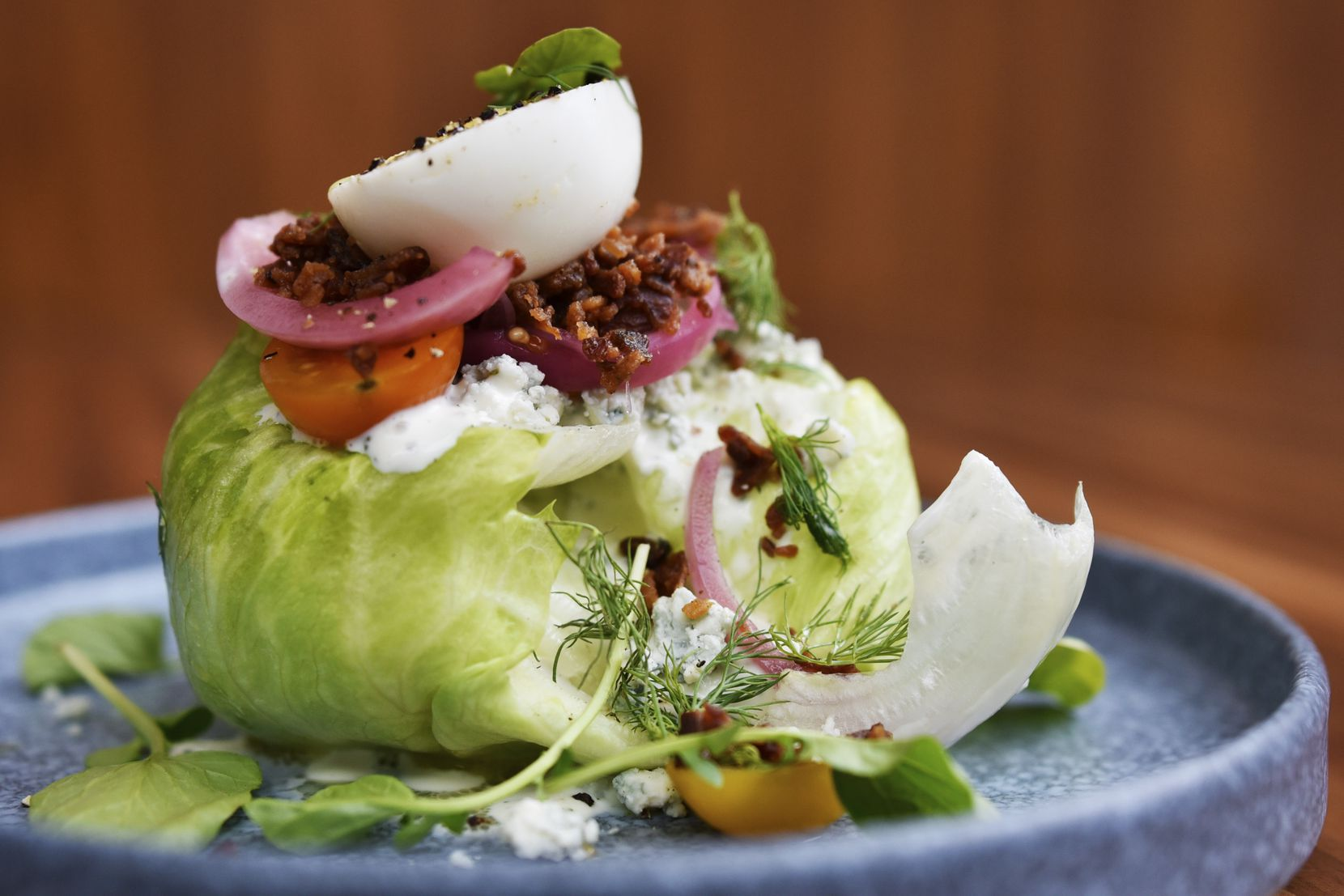 Sloane's Corner serves breakfast, lunch and dinner. Here's the Cobb salad with buttermilk dressing.