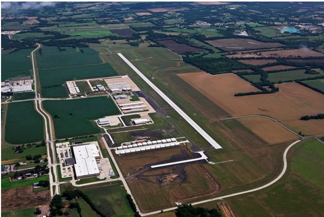 McKinney National Airport is expanding with a new terminal scheduled to later this year.