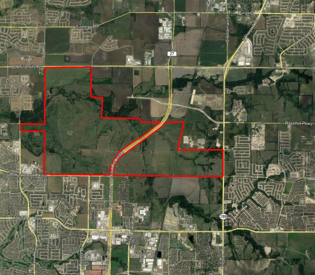 The Fields ranch in Frisco stretches from Preston Road to west of the Dallas North Tollway and north to U.S. 380.
