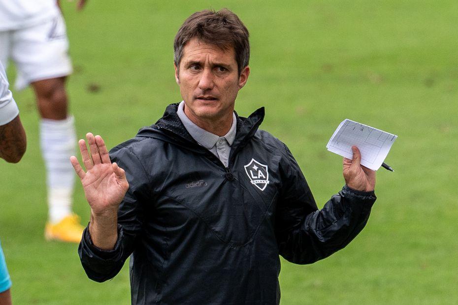 El técnico argentino del Galaxy de Los Ángeles, Guillermo Barros Schelotto, tuvo una gran etapa como jugador en la MLS.