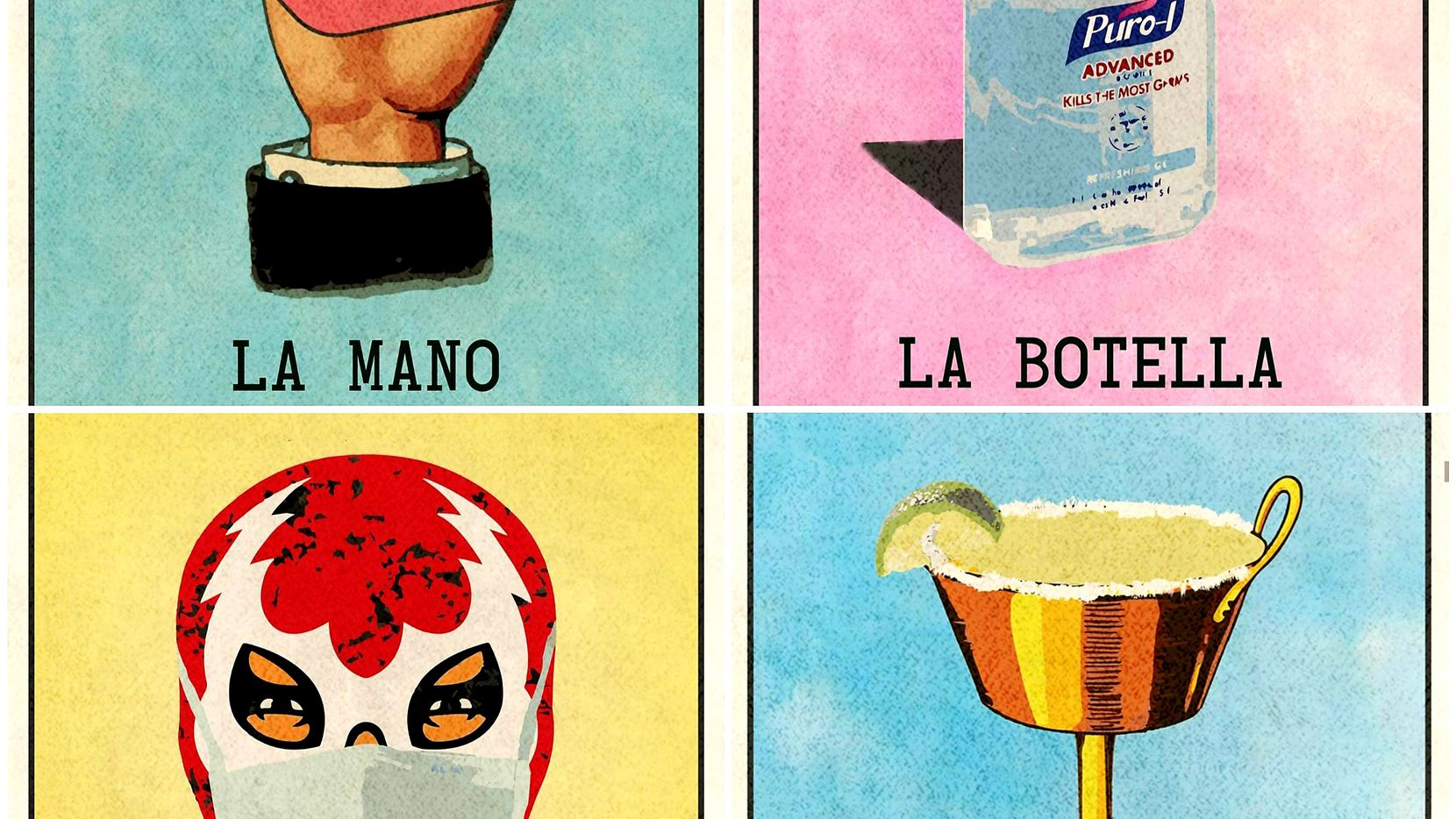 In Imagery Of Mexican Card Game Texas Artist Finds Way To Cope With Pandemic