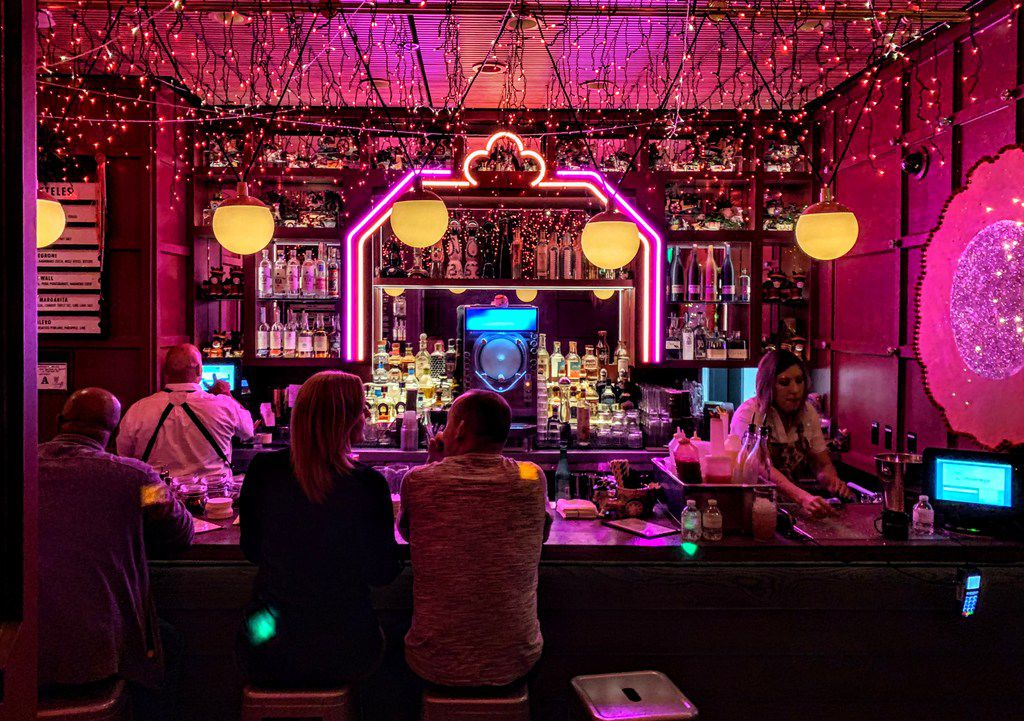 No one stumbles upon Ghost Donkey Bar at the Cosmopolitan Resort, but it's worth seeking out for its mezcal cocktails and hidden location where you're not likely to run into anyone you don't want to see.
