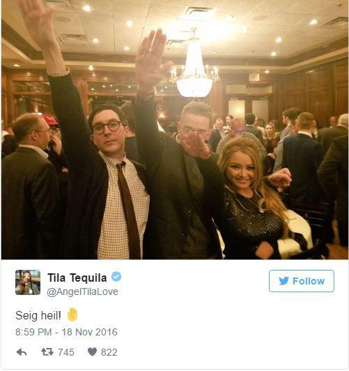 Screenshot of Tila Tequlia's Tweet