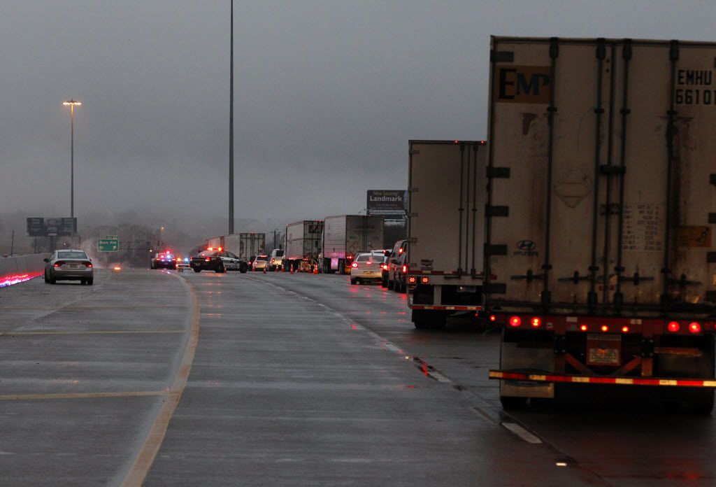 With three main lanes and no service road, any accident becomes a major accident as Interstate 30 crosses Lake Ray Hubbard between Bass Pro Drive in Garland and Dalrock Road in Rowlett. Regional transportation leaders propose to use funding to widen the freeway as collateral to get the nearby LBJ East project in motion.
