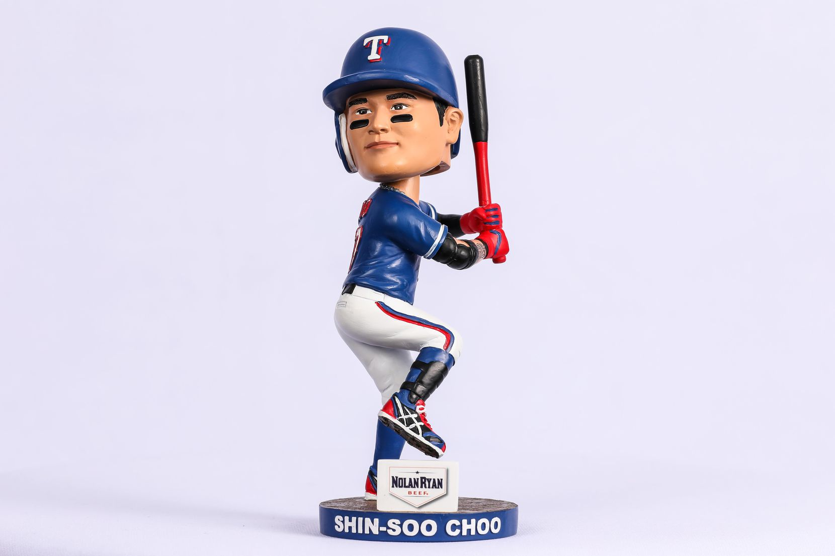 Rangers bobblehead to be given to fans prior to the game on July 5.