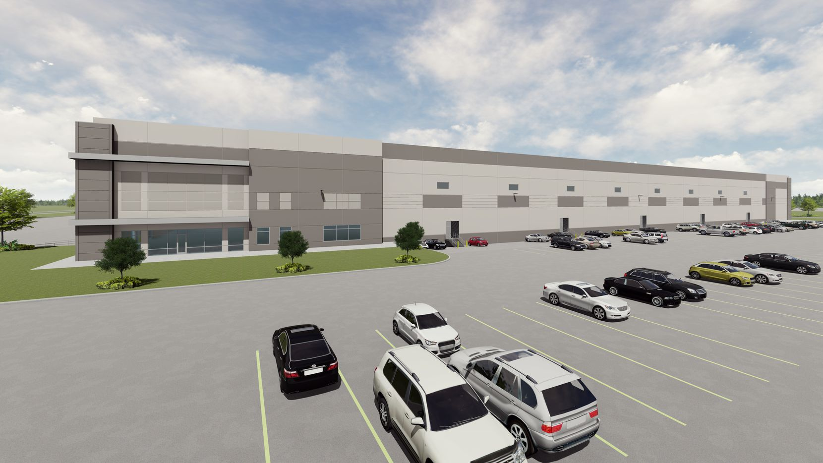 VanTrust Real Estate's new warehouse in DalParc Logistics Center will open next summer.