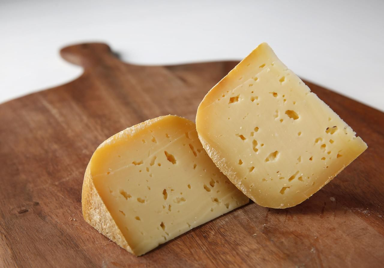 Drunken Monk Cheddar from Eagle Mountain Farmhouse