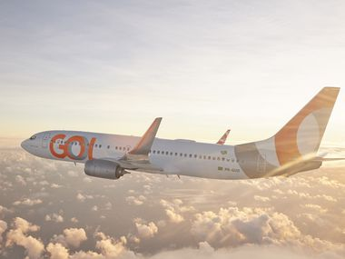 One of Gol Airlines Boeing 737 NG.