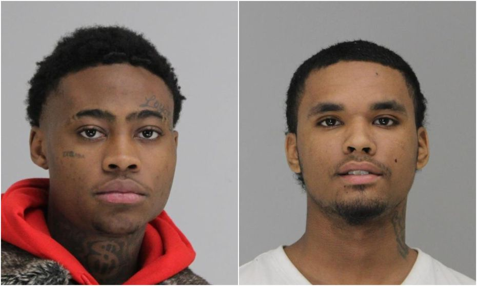 Kam'Ron Leeks (left), 17, and Darrion Allen, 19, were both in the Dallas County jail Monday morning facing capital murder charges in connection with the Jan. 2 death of Anthony Lee Moss.