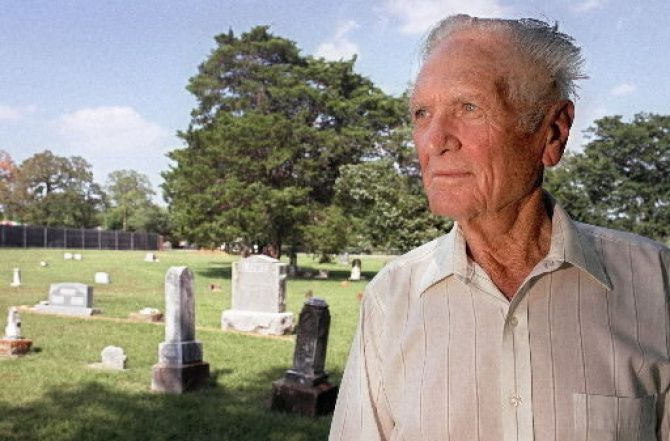 Jack Cook had his reasons for wanting to care for the grounds of Lonesome Dove Cemetery. It was all about family. He died in 2013 at age 96.