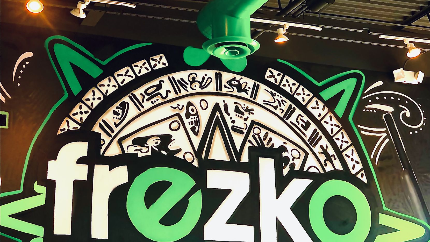 Fort Worth artist Juan Velazquez has painted several murals inside the new Frezko Taco Spot in The Colony.