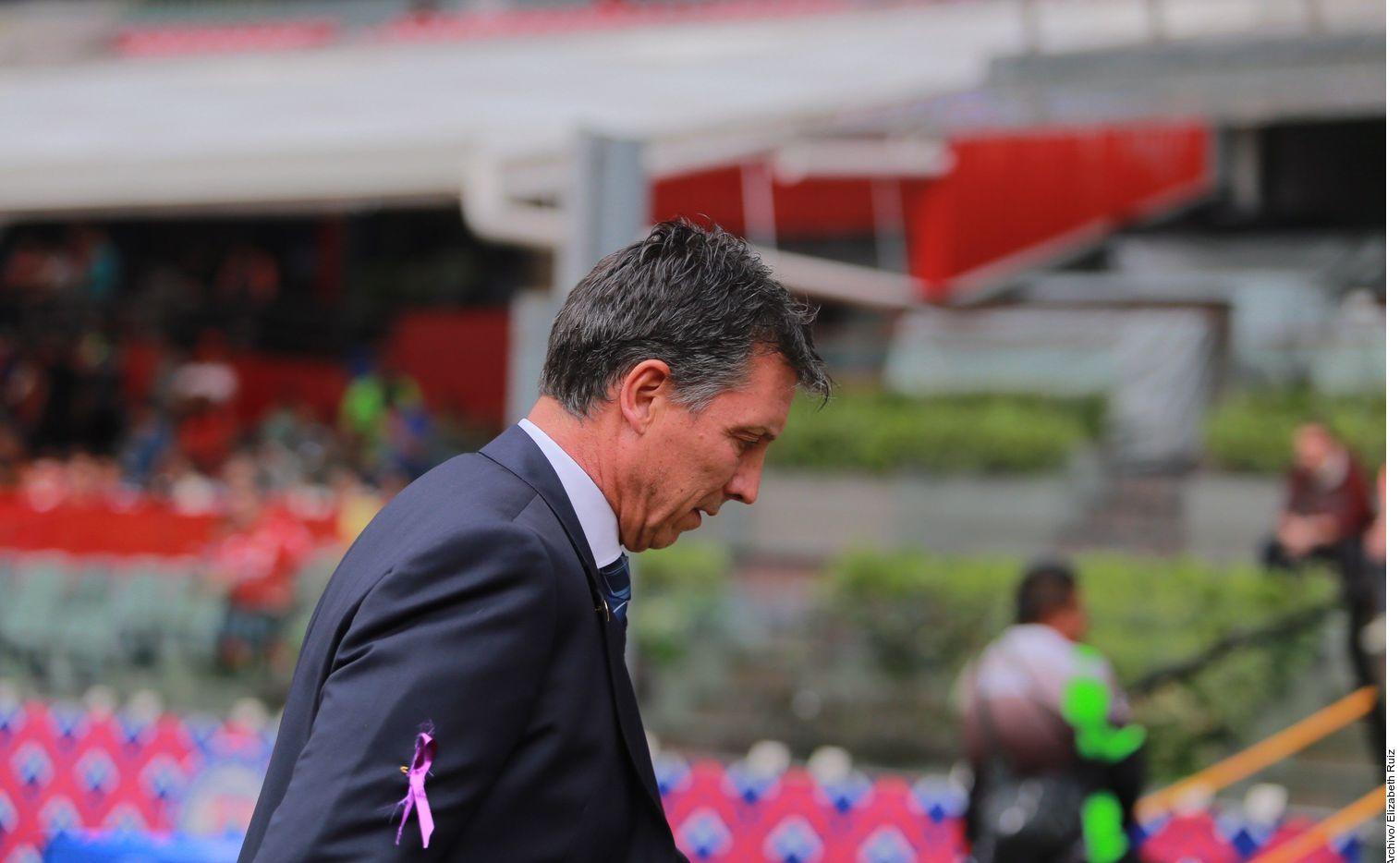 El estratega Robert Dante Siboldi llegó al Cruz Azul en septiembre de 2019.