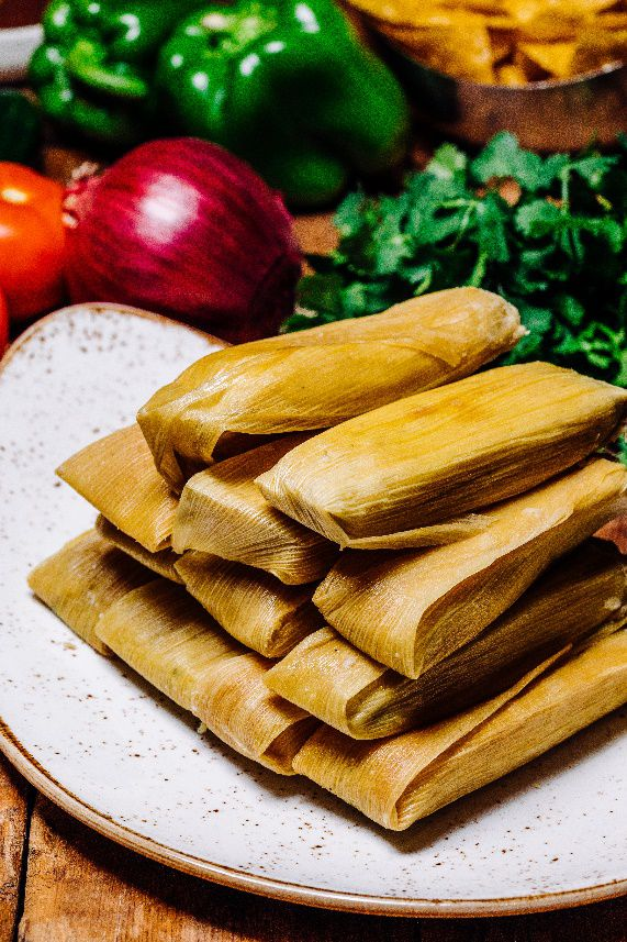 Cantina Laredo offers beef and chicken tamales to-go for $16.95 per dozen this holiday season.