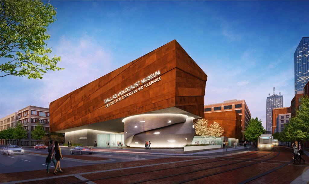This rendering shows the Dallas Holocaust Museum being built across from the museum's current location in the West End. The museum is scheduled to open in September.