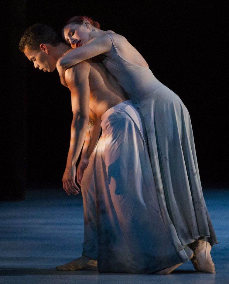 Albert and Emily Drake perform in Carved In Stone for Bruce Wood Dance. He is creating a new duet for him and his wife that will premiere at the debut of AKA:ballet at the Latino Cultural Center on July 27.