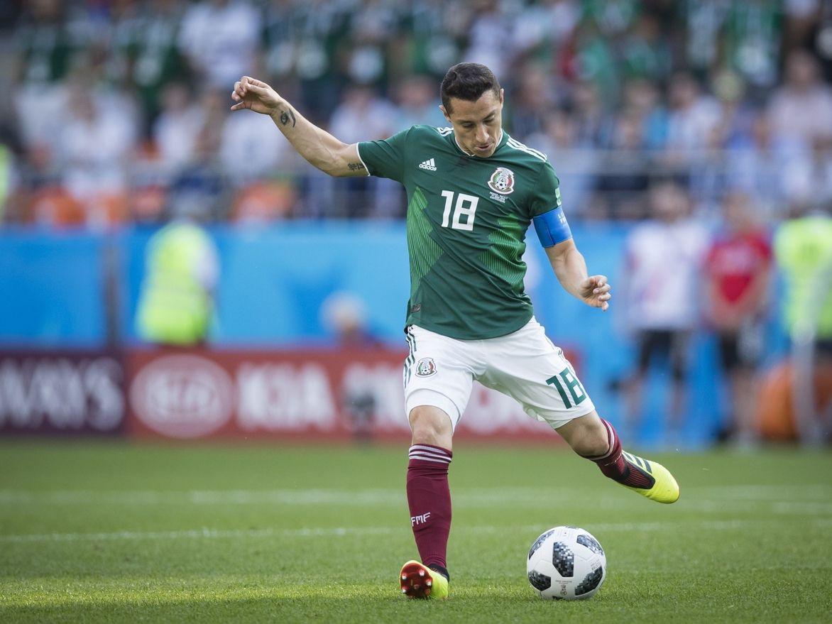 Andrés Guardado es el capitán de la selección mexicana que enfrenta a Costa Rica en la semifinal de la Liga de Naciones de la Concacaf.