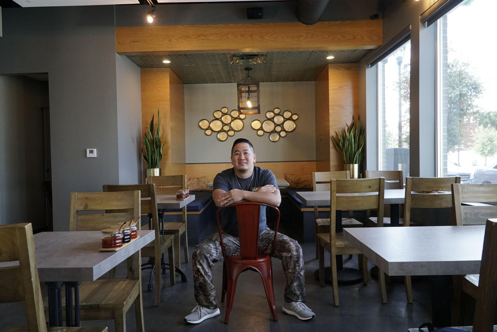Tuan Pham is owner/chef of Four Sisters Restaurant in Fort Worth.