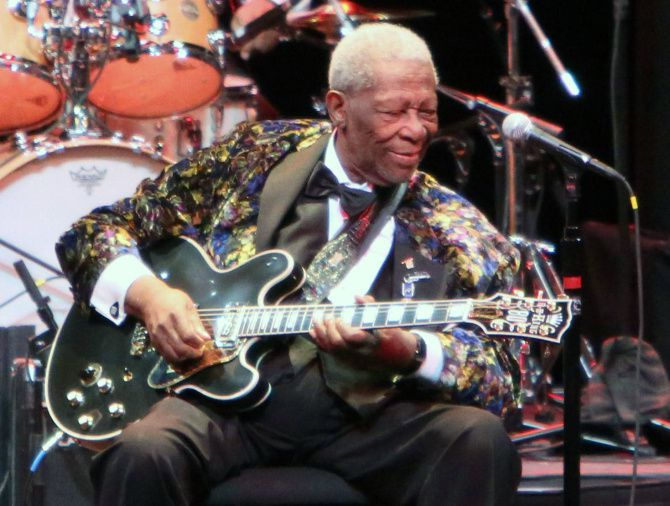 B.B. King performs at the Winspear Opera House.