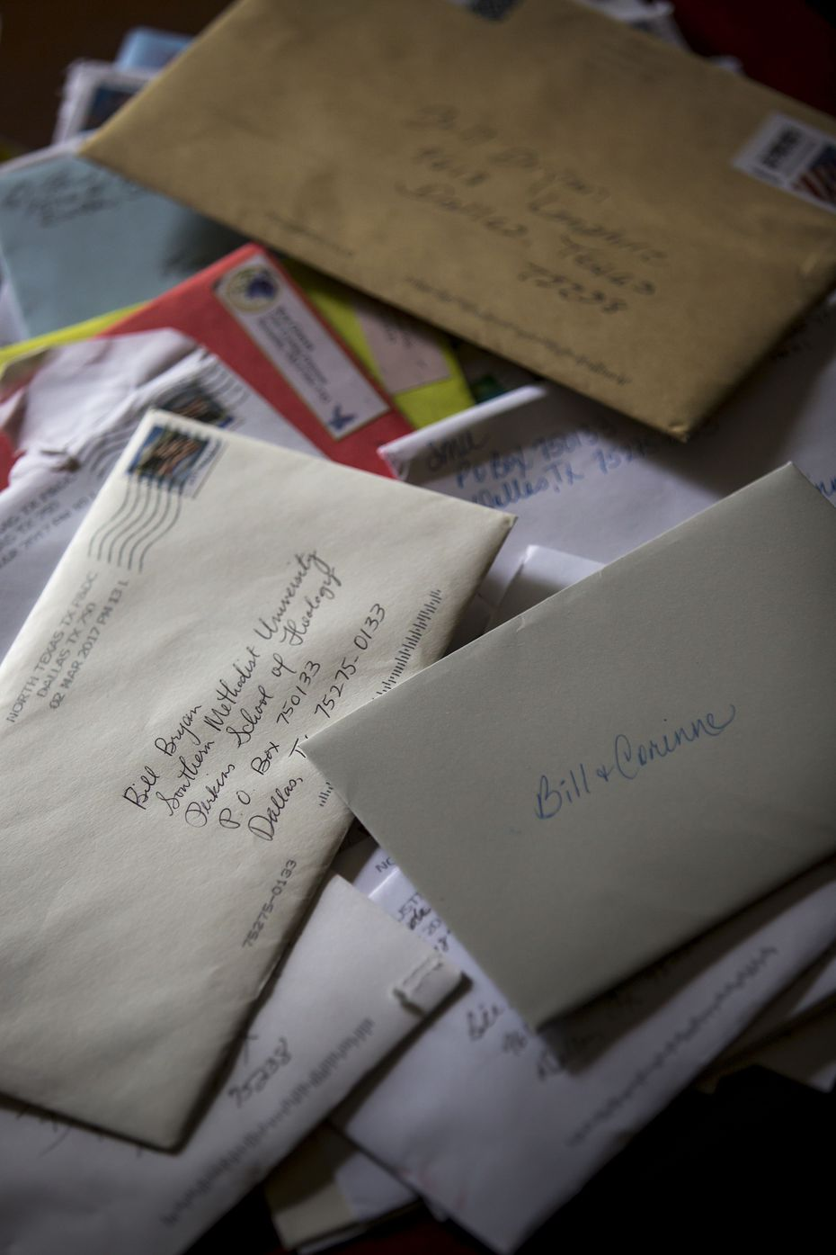Letters have poured in to support Bill. (Smiley N. Pool/Staff Photographer)