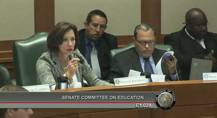 Sen. Lois Kolkhorst, R-Brenham, did something few lawmakers do openly at an August meeting. She poked the state's powerful education establishment in the eye.