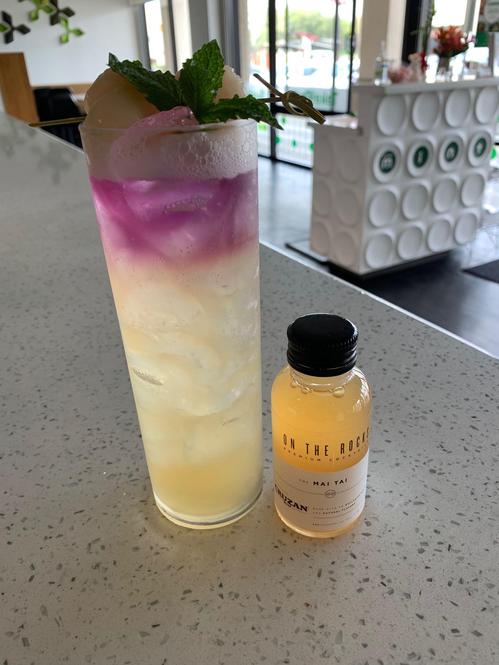 Mai Tai cocktail kit from Asian Mint restaurant