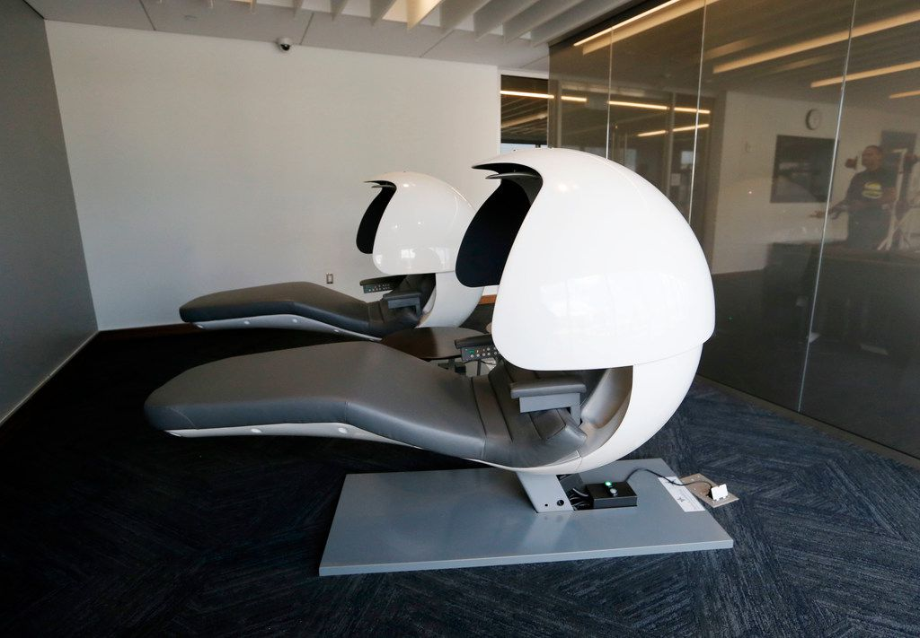 Sleep pods help with athletes' recovery at the new Baylor Scott & White Sports Therapy & Research at The Star in Frisco on Monday, June 18, 2018.