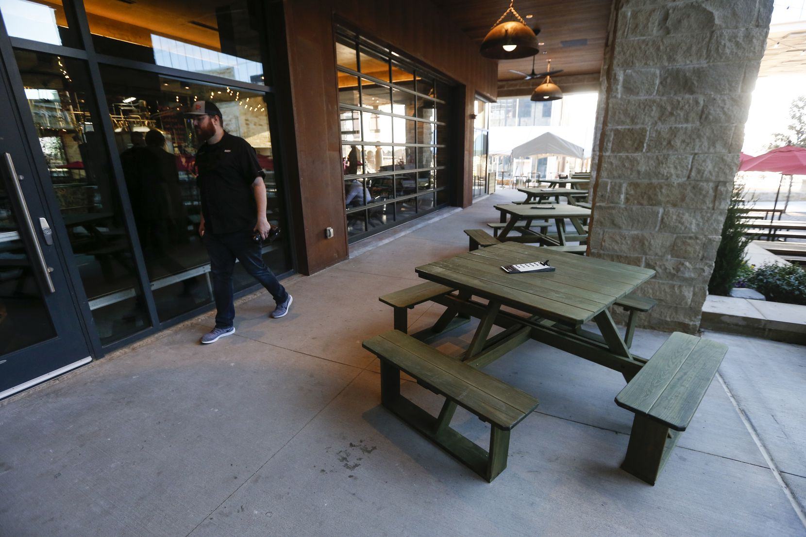 Revolver Brewing BLDG 5 is a new working brewery at Texas Live in Arlington.