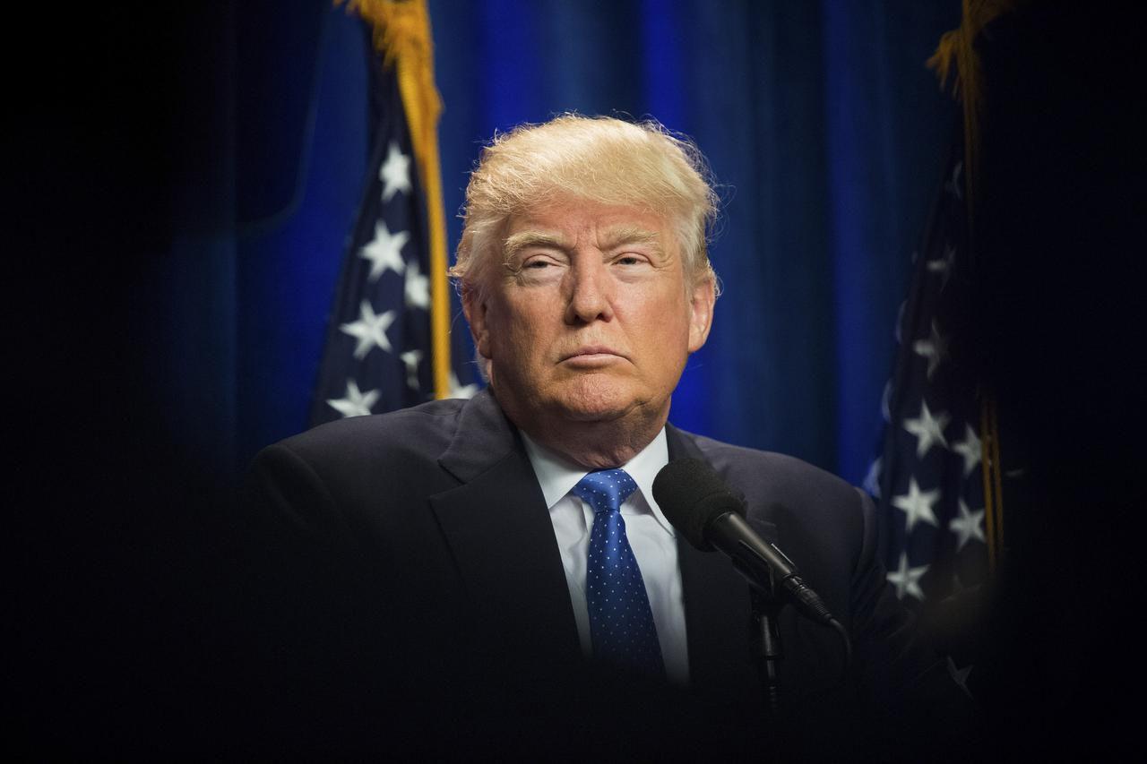 Donald Trump estará el jueves en Dallas, pero para saber en qué lugar estará hay que donar un mínimo de $500 a su campaña. (NYT/DAMON WINTER)