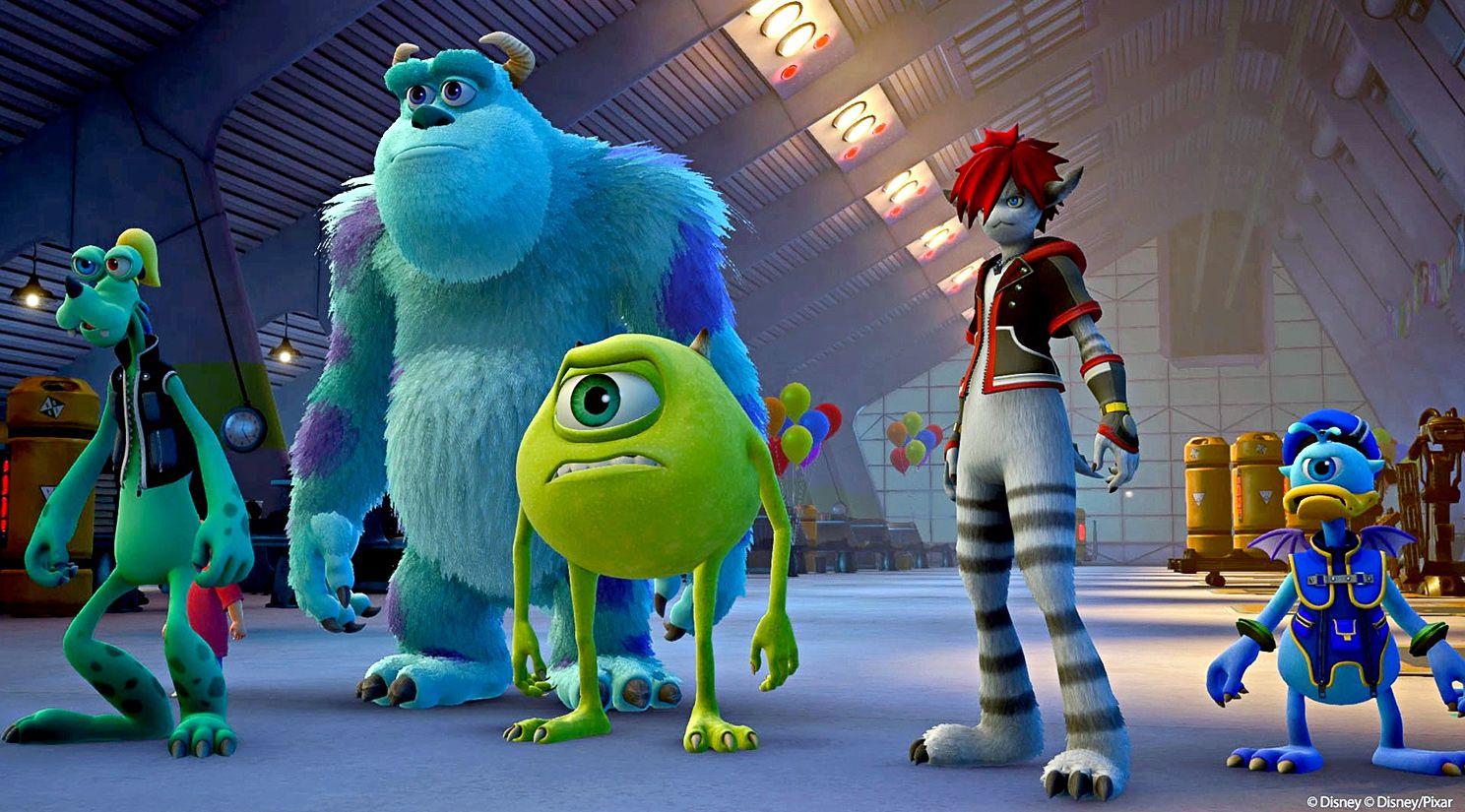 Personales de la cinta Monsters Inc. AGENCIA REFORMA